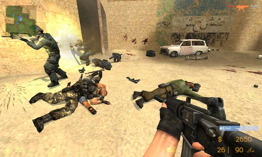 counter strike source online скачать сервер