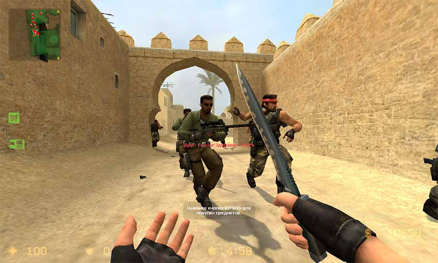 скачать counter strike e 1 6 онлайн бесплатно для windows 7